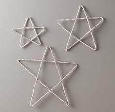 Wood Beaded Star