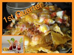 With a good bloody Mary under way, these #Nachos will score at least one #touchdown in the first quarter!