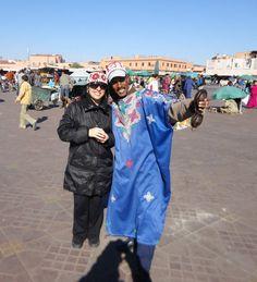Marrakech - praça Djema el Fina