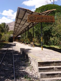 Tambo del Inka Private Train Station