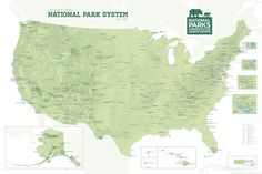 21 Best National Parks images in 2019 | Maps posters, National parks ...