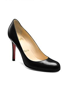 Christian Louboutin Simple 100 Leather Pumps - the dream