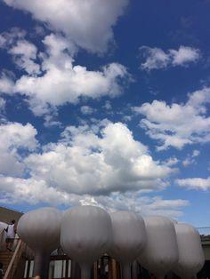 sky and cloud in seoul