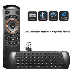 Double Sided Rechargeable Wireless Sensitive For PC TV Remote Control Smart Portable Keyboard USB IR Learning Practical – Computer & Office Thing 1, Tv Remote Controls, 4g Wireless, Mac Os, Linux, Computer Keyboard, Usb, Free Shipping, Fly Air