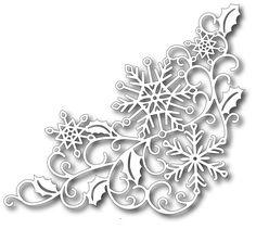 Tutti designy - řezání Die - Snowflake Corner