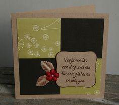 elke's blog: scrap kaart/card