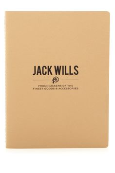The Atherton Large Notebook | Jack Wills