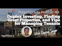 Duplex Investing, Finding Great Properties, and Tips for Managing Tenants | BP Podcast 048 - http://www.sportfoy.com/duplex-investing-finding-great-properties-and-tips-for-managing-tenants-bp-podcast-048/