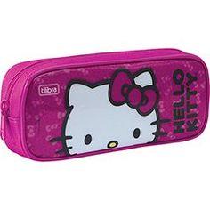 Estojo Grande Hello Kitty - Tilibra