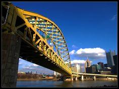 Fort Pitt Bridge I by Latrodectus-Pallidus.deviantart.com