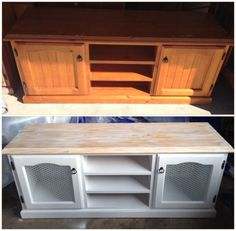 Country Shabby Chic TV Unit
