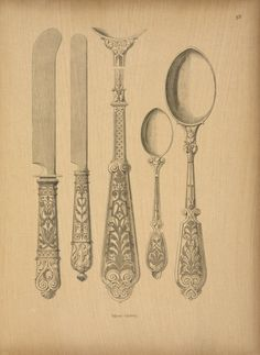 Get excited about the design for your cutlery befo re the big day!