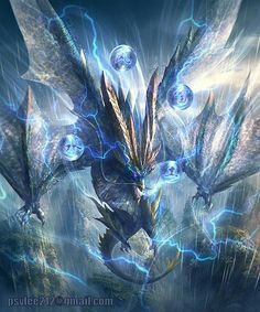 Lel, look at this dragon, he thinks he's a god, silly dragon Mythical Creatures Art, Mythological Creatures, Magical Creatures, Fantasy Creatures, Monster Hunter Art, Monster Art, Dark Fantasy Art, Fantasy Artwork, Image Phoenix