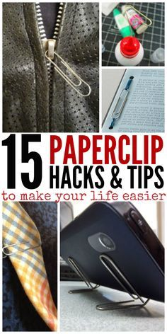 15 Paperclip Hacks to Make Your Life Easier
