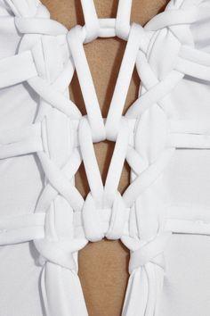 La Perla Mohini Knot Embellished Swimsuit