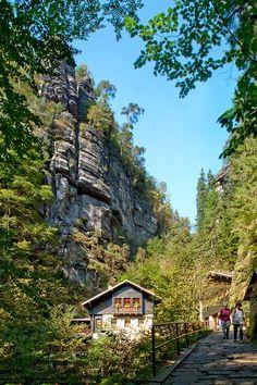 Amselfall in Kurort Rathen — Sächsische Schweiz