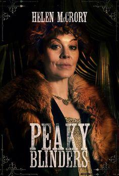 Helen McCrory as Aunt Polly in Peaky Blinders