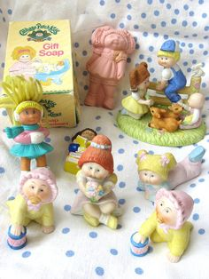 Image detail for -Vintage Cabbage Patch Kid Doll Figurines Soap by mychildhooddolls 1980s Childhood, Childhood Memories, Vintage Children, My Children, 80s Girl Toys, Cabbage Patch Kids Dolls, History For Kids, Popular Toys, Child Hood