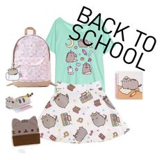 """#PVxPusheen"" by itstyrell on Polyvore featuring Pusheen, contestentry and PVxPusheen"