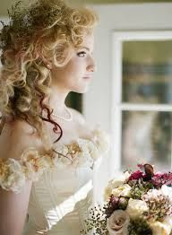 victorian wedding hair