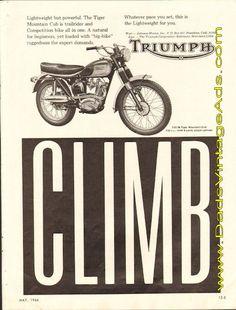1966 Triumph Tiger Mountain Cub T20/M – Climb