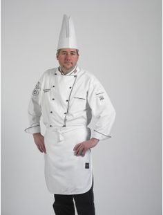 Chef Designs Mens 1//2 Sleeve Chef Coat