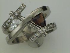 Garnet and Diamonds