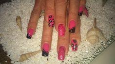 Pink und Blümchen