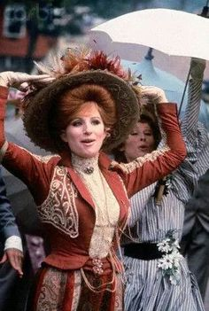 Barbara Streisand as Dolly Levi in Hello, Dolly!