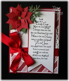 Stamps - Our Daily Bread Designs:Candy Cane, ODBD Custom Fancy Foliage Die
