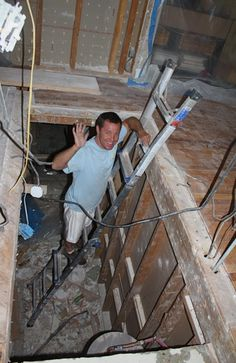 Best How To Move A Stairwell Basement Steps Stair Remodel 400 x 300