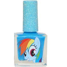 My Little Pony Rainbow Dash Nail Polish - 102426 Brand new never opened. My Little Pony Dolls, Mlp My Little Pony, My Little Pony Friendship, Cool Toys For Girls, Diy For Kids, Rainbow Dash Party, Princess Toys, Princess Luna, Baby Alive Dolls