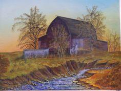 Barn Early Winter