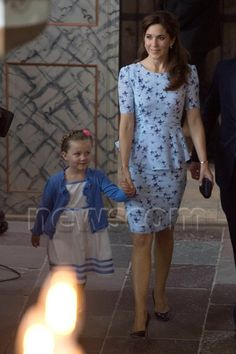 princesse Mary et la Princesse Isabella