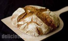 Pan de cerveza ale con trigo y centeno. #receta #pan #bread #brot #beer #cerveza #bier