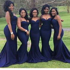 Cheap mermaid bridesmaid dresses, Buy Quality bridesmaid dresses directly from China mermaid bridesmaid Suppliers: Navy Blue Mermaid Bridesmaid Dresses 2017 Sexy Sweetheart Spaghetti Straps Long Dresses Wedding Party Dresses African Vestidos African Bridesmaid Dresses, Mermaid Bridesmaid Dresses, Mermaid Dresses, Wedding Bridesmaids, Midnight Blue Bridesmaid Dresses, Prom Dresses, Eggplant Bridesmaid Dresses, Evening Dresses, Long Dresses