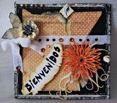 Welcome card. Tarjeta de Bienvenida.