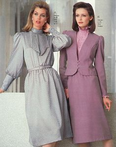 Dress styles in the 1980 s