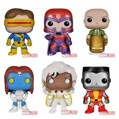 Marvel Announces Classic X-Men POP Vinyls - Oh my god, I'm completely freaking out!!