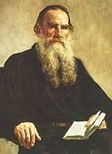 ritratto di Tolstoj