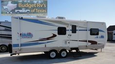 With sleeping for up to six the whole family can get in on all of the fun and adventure this great bumper pull travel trailer is sure to deliver! .