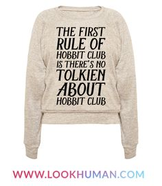 This lord of the rings shirt is great for book nerds and book lovers alike who know that the first rule of hobbit club is there's no tolkien about hobbit club. Perfect for pun lovers, this book shirt is great for fans of tolkien shirts, lord of the rings memes and book gifts.