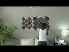 Descubre PASO a PASO como para pintar un detalle decorativo con plantillas (stencil)