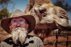 CAMEL MAN - Stuarts Well - Central Australia - www.electronicswagman.com.au