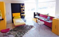 Funky bedroom design
