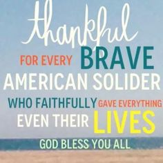 God bless soldiers