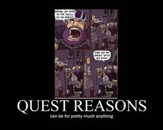 Quest Reasons