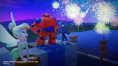 """""""Big Hero 6″ characters fly into Disney Infinity 2.0 with Hiro and Baymax figures, Tinker Bell"""