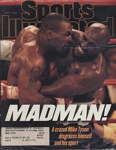 Huge collection of vintage, old, collectible, rage magazines spanning over 100 years with thousands of titles. Featuring Mike Tyson, Evander Holyfield, V.J. Lovero. Sports Stars, Si Cover, Boxing Posters, Sports Illustrated Covers, World Boxing, Boxing History, Teenage Guys, By Any Means Necessary, 1980s