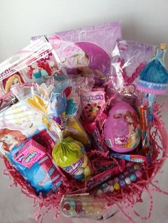 Princess Gift Basket $30